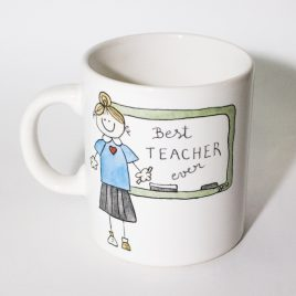 "Taza ""Best teacher"""